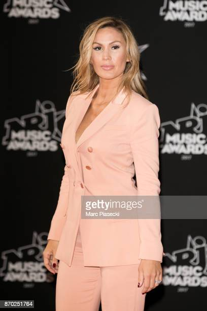 Singer Vitaa attends the 19th 'NRJ Music Awards' ceremony on November 4 2017 in Cannes France