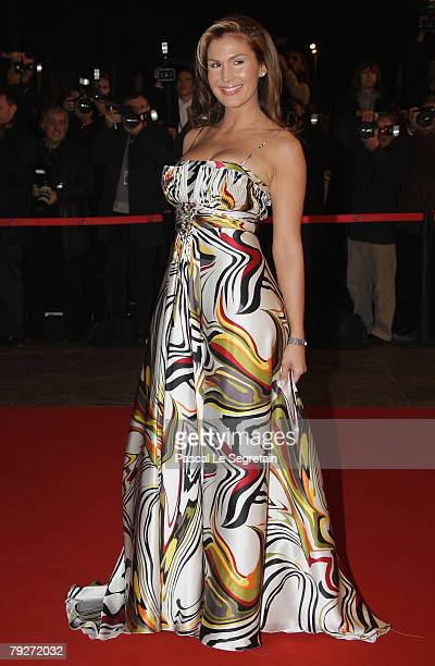 Singer Vitaa attends the 2008 NRJ Music Awards on January 26 2008 in Cannes France