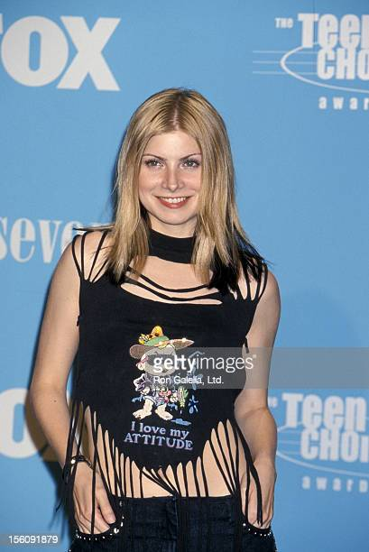 Singer Vitamin C attending Second Annual Teen Choice Awards on August 6 2000 at the Barker Hanger at the Santa Monica Airport in Santa Monica...