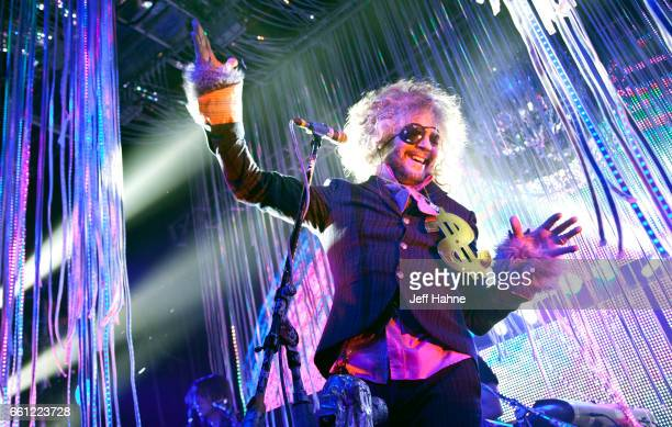 Singer Wayne Coyne of The Flaming Lips performs at The Fillmore Charlotte on March 30 2017 in Charlotte North Carolina