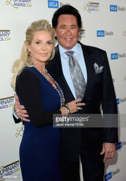 Singer Wayne Newton and Kathleen McCrone attend the UCLA Head and Neck Surgery Luminary Awards at the Beverly Wilshire Four Seasons Hotel on January...