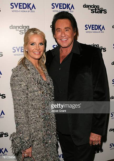 "Singer Wayne Newton and wife Kathleen Newton arrive at the ""Dancing With The Stars"" season finale after party sponsored by Svedka at The Day After..."