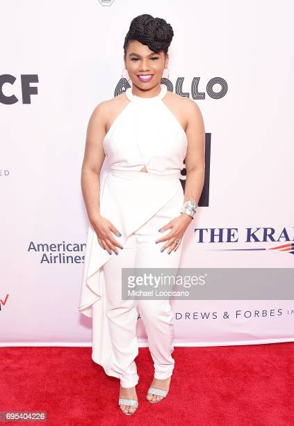 Singer We McDonald attends the Apollo Spring Gala 2017 at The Apollo Theater on June 12 2017 in New York City