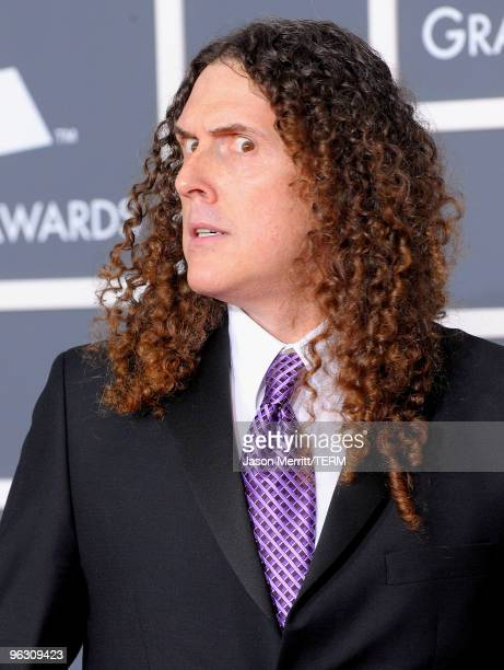 Singer Weird Al Yankovic arrives at the 52nd Annual GRAMMY Awards held at Staples Center on January 31 2010 in Los Angeles California