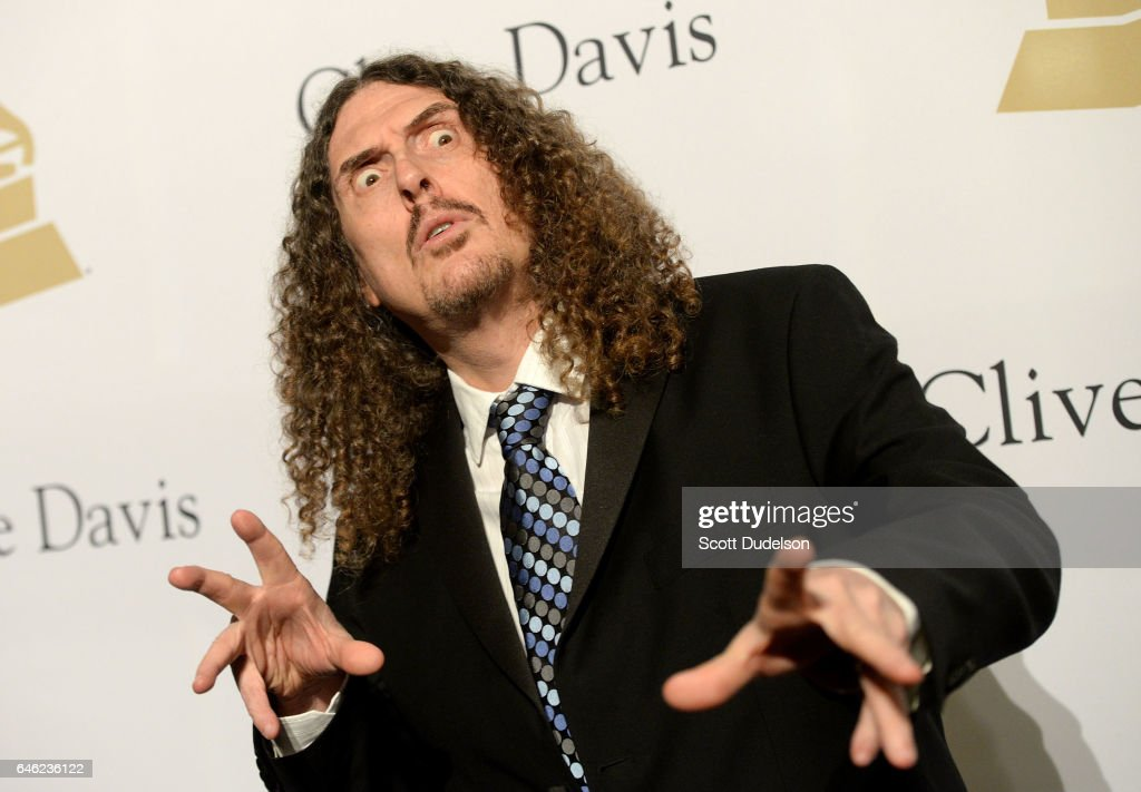 Singer Weird Al Yankovich attends the 2017 Pre-Grammy Gala and Salute to Industry Icons Event at The Beverly Hilton Hotel on February 11, 2017 in Beverly Hills, California.