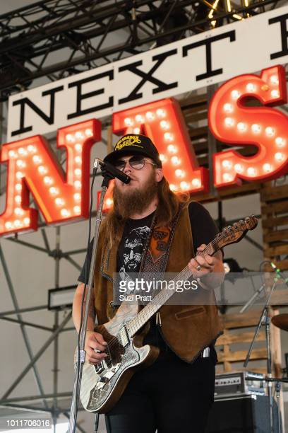 Singer Wes Bayliss of The Steel Woods performs at Watershed Festival at Gorge Amphitheatre on August 5 2018 in George Washington