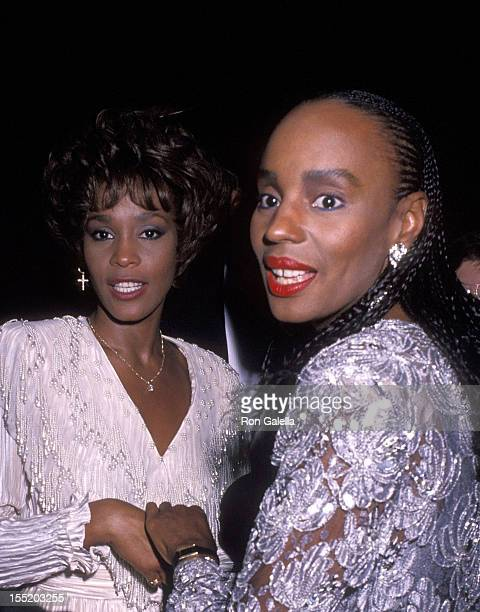 Singer Whitney Houston and Essence Magazine editor Susan L Taylor attend the Fourth Annual Essence Awards on October 19 1990 at Radio City Music Hall...