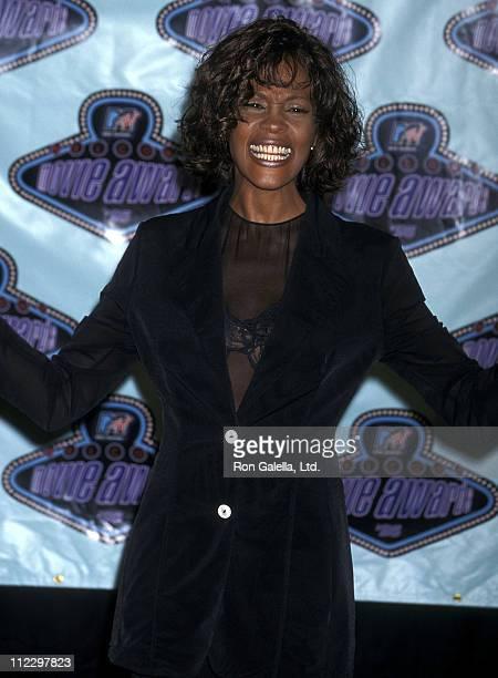Singer Whitney Houston attends the Fifth Annual MTV Movie Awards on June 8 1996 at Walt Disney Studios in Burbank California