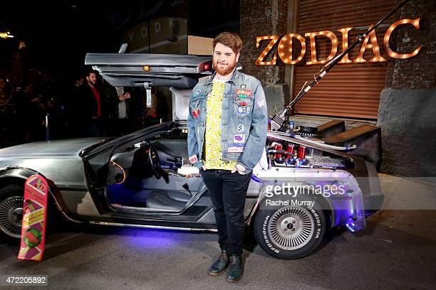 Singer Who Is Fancy attends an exclusive launch party introducing Zodiac Vodka to the California market hosted by Zodiac Vodka and Scooter Braun on...