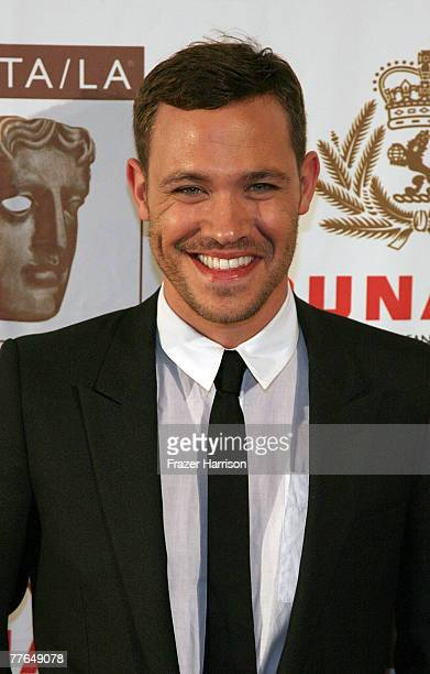 Singer Will Young arrives at the 16th Annual British Academy of Film and Television/LA Cunard Britannia Awards on November 1 2007 at the Hyatt...