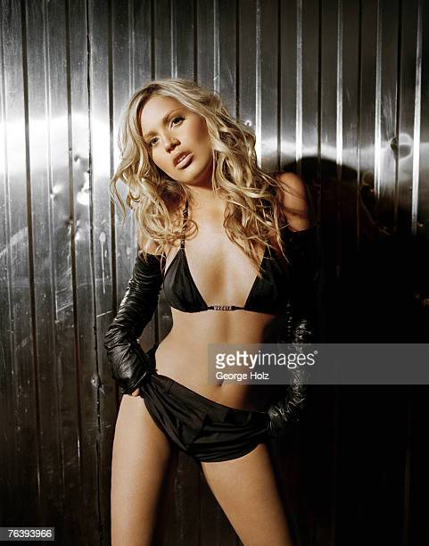 Singer Willa Ford is photographed FHM Magazine on May 30 2001 in New York City
