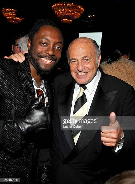 Singer william and Universal Music Group CEO Doug Morris attends the 52nd Annual GRAMMY Awards Salute To Icons Honoring Doug Morris held at The...