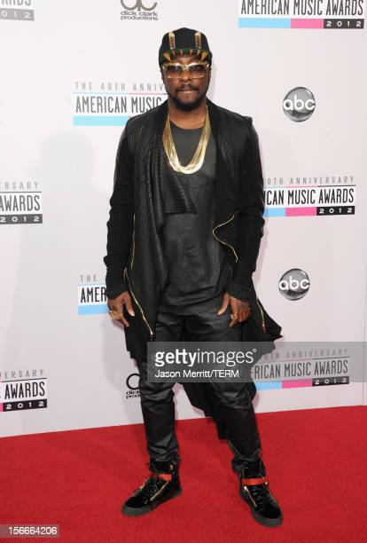 Singer william attends the 40th American Music Awards held at Nokia Theatre LA Live on November 18 2012 in Los Angeles California