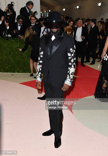 Singer william attends the 'Manus x Machina Fashion in an Age of Technology' Costume Institute Gala at the Metropolitan Museum of Art on May 2 2016...