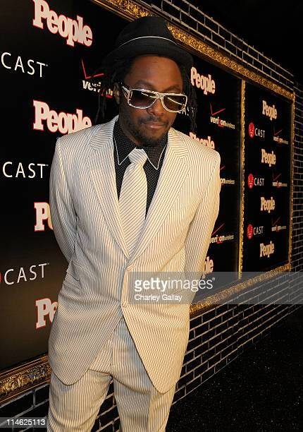 Singer william attends the Verizon Wireless and People Magazine party to honor Timbaland at the Avalon