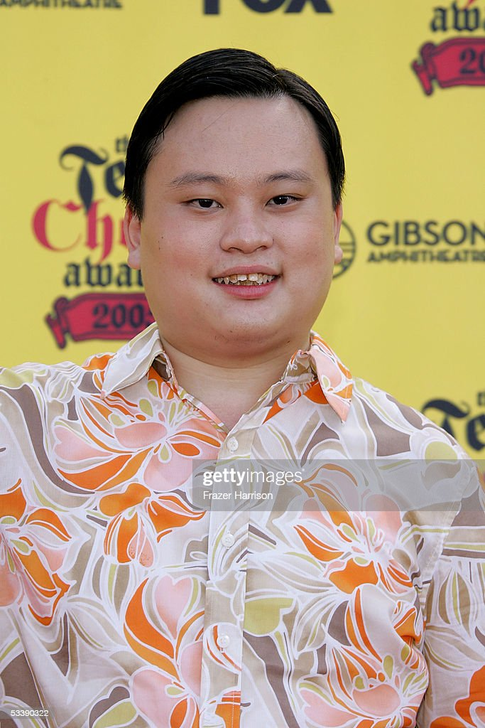 Singer William Hung arrives at the 2005 Teen Choice Awards held at Gibson Amphitheatre at Universal CityWalk on August 14, 2005 in Universal City, California.