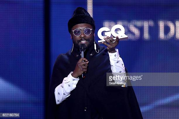 Singer William is seen on stage at the GQ Men of the year Award 2016 show at Komische Oper on November 10 2016 in Berlin Germany