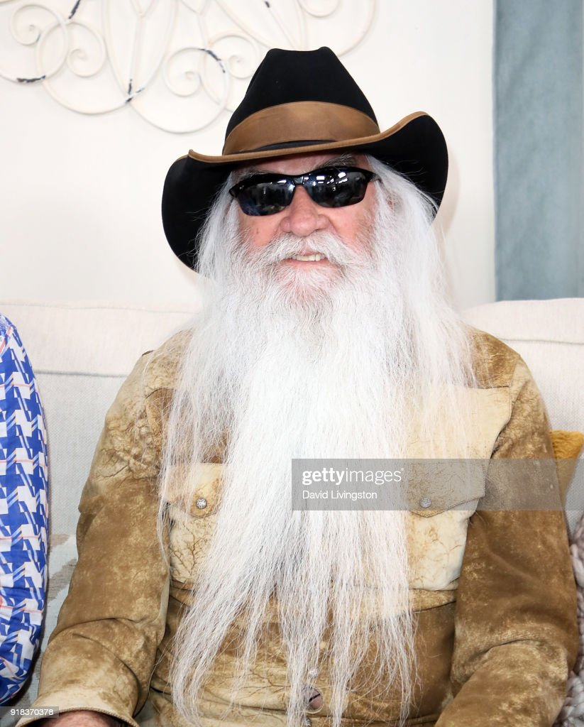Singer William Lee Golden of The Oak Ridge Boys visits Hallmark's 'Home & Family' at Universal Studios Hollywood on February 14, 2018 in Universal City, California.