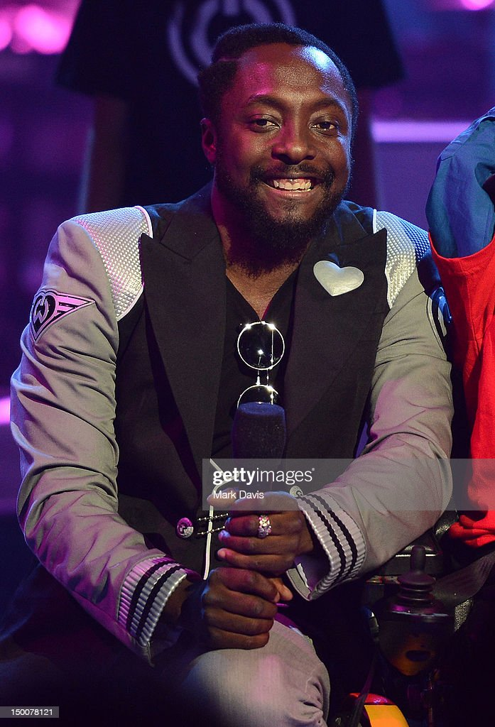 Singer Will.i.am performs at the MDA Show of Strength held at CBS Television City on August 9, 2012 in Los Angeles, California. The show airs on Sunday, September 2, 2012 at 8PM