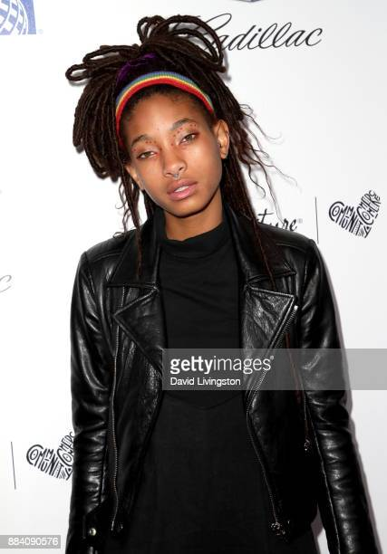 Singer Willow Smith attends Ebony Magazine's Ebony's Power 100 Gala at The Beverly Hilton Hotel on December 1 2017 in Beverly Hills California