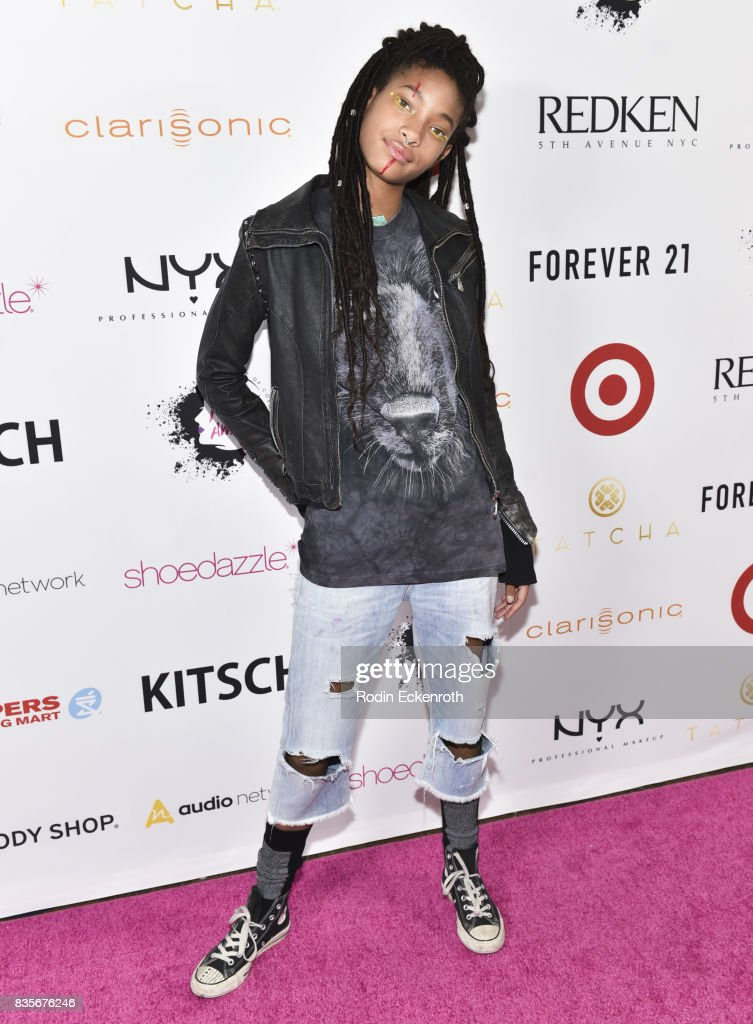 Singer Willow Smith attends NYX Professional Makeup's 6th Annual FACE Awards at The Shrine Auditorium on August 19, 2017 in Los Angeles, California.