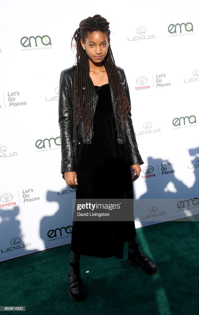 Singer Willow Smith attends the 27th Annual EMA Awards at Barker Hangar on September 23, 2017 in Santa Monica, California.