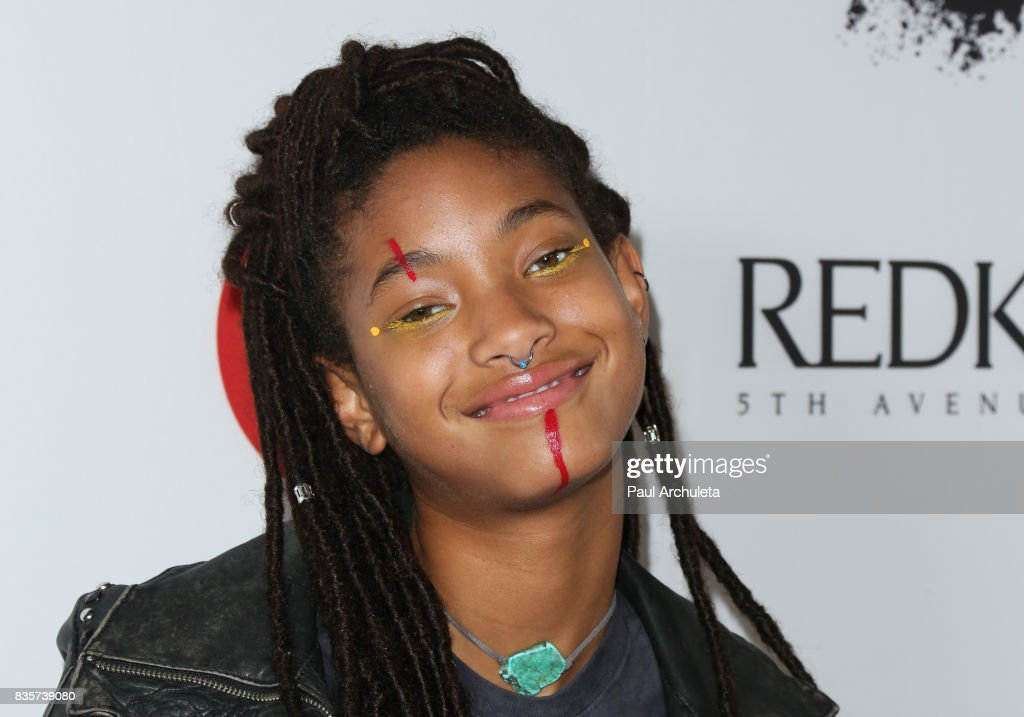 Singer Willow Smith attends the NYX Professional Makeup's 6th Annual FACE Awards at The Shrine Auditorium on August 19, 2017 in Los Angeles, California.