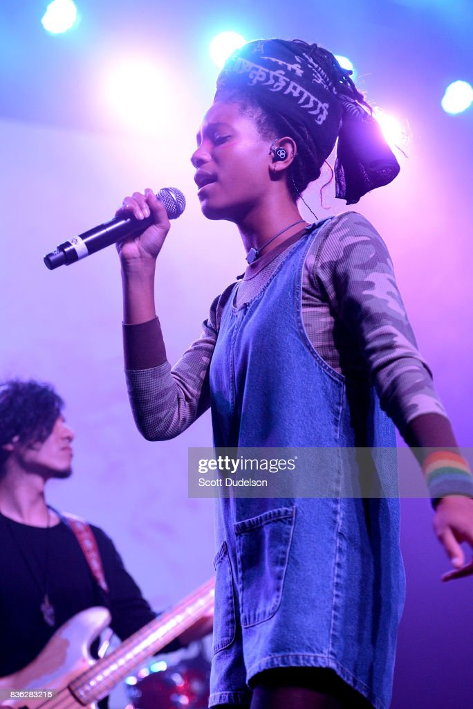 Singer Willow Smith performs onstage during the GIRL CULT Festival at The Fonda Theatre on August 20, 2017 in Los Angeles, California.