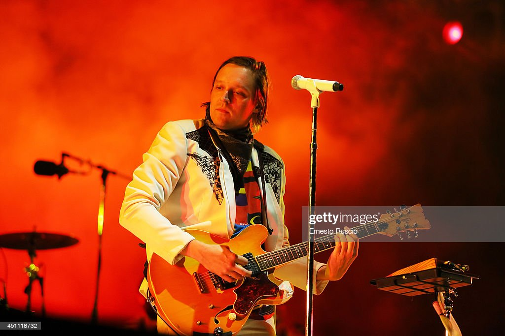 Arcade Fire Perform In Rome