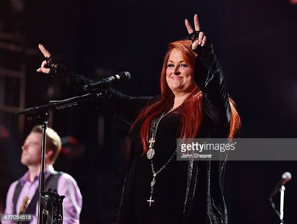 Singer Wynonna Judd of Wynonna & The Big Noise performs onstage during the 2015 CMA Festival on June 13, 2015 in Nashville, Tennessee.