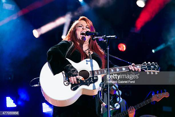 Singer Wynonna Judd performs onstage during day 3 of the 2015 CMA Festival on June 13, 2015 in Nashville, Tennessee.