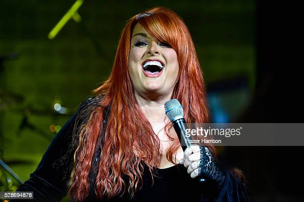 Singer Wynonna Judd performs onstage during Unbridled Eve Gala during the 142nd Kentucky Derby on May 6 2016 in Louisville Kentucky