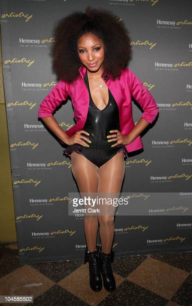 Singer Wynter Gordon attends Hennessey Artistry at SOB's on October 1 2010 in New York City