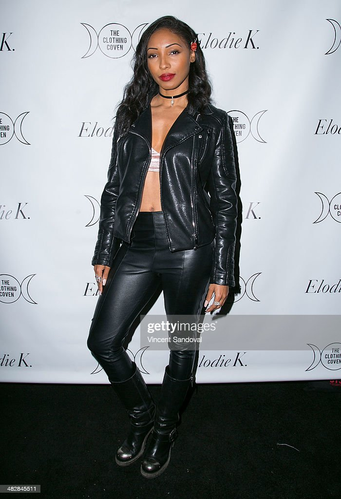 Singer Wynter Gordon attends Tallulah Willis and Mallory Llewellyn celebrate the launch of their new fashion blog 'The Clothing Coven' at Elodie K. on April 4, 2014 in West Hollywood, California.