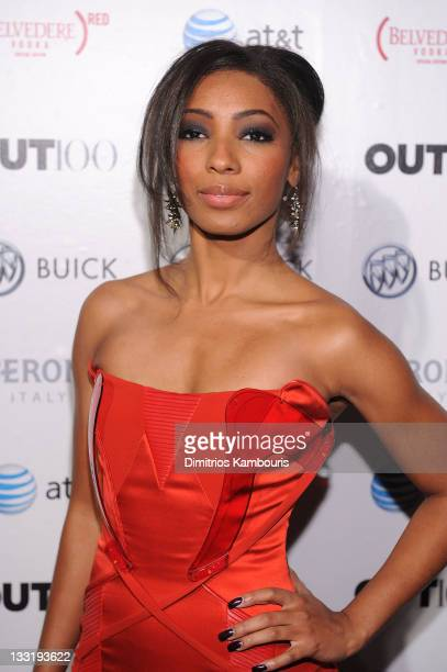 Singer Wynter Gordon attends the OUT celebration of The OUT100 at Skylight Soho on November 17 2011 in New York City