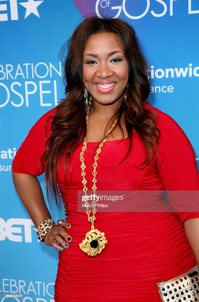Singer Y'Anna Crawley attends the BET Celebration of Gospel 2013 at Orpheum Theatre on March 16, 2013 in Los Angeles, California.