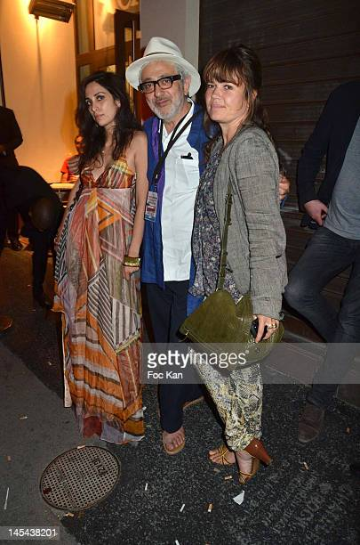 Singer Yas director Elias Suleiman and producer Kristina Larsen attend '7 Days in Havana' Premiere After Party at La Favela Chic on May 29 2012 in...
