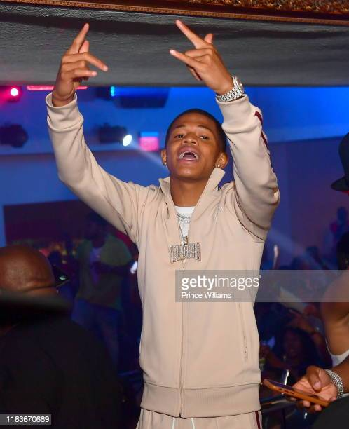 Singer YK Osiris attends a Party at Compound on July 21 2019 in Atlanta Georgia