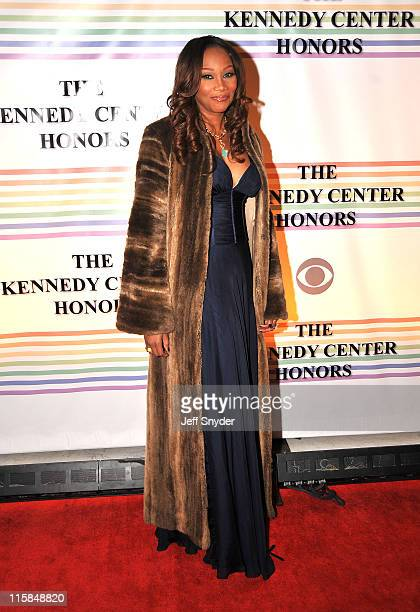 Singer Yolanda Adams arriving at The 30th Kennedy Center Honors on December 2 in Washington DC The 2007 honorees are pianist Leon Fleisher actor...