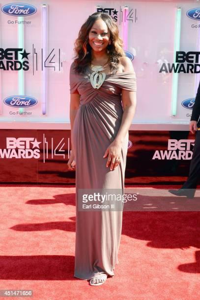 Singer Yolanda Adams attends the BET AWARDS '14 at Nokia Theatre LA LIVE on June 29 2014 in Los Angeles California