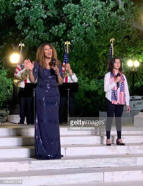 "Singer Yolanda Adams performs for the 40th Anniversary of ""A Capitol Fourth"" on July 4, 2020 on PBS in Washington, DC."
