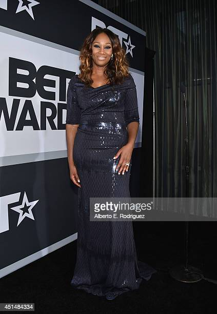 Singer Yolanda Adams poses in the Winners Room during the BET AWARDS '14 at Nokia Theatre LA LIVE on June 29 2014 in Los Angeles California