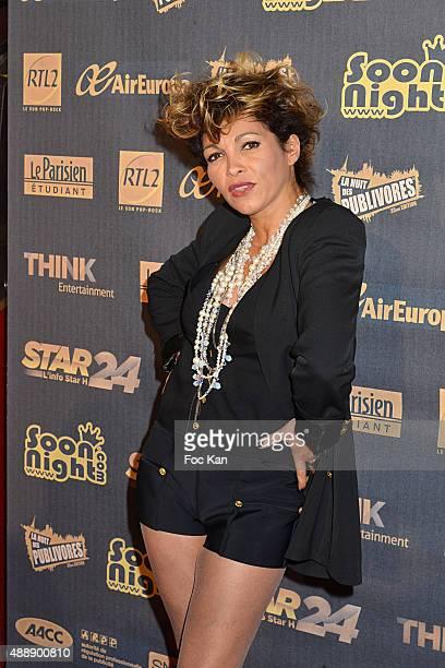 Singer Ysa Ferrer attends the '35th Nuit des Publivores' at Grand Rex September 17 2015 in Paris France