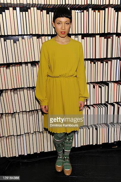 Singer Yukimi Nagano of Little Dragon attends the Mulberry Mix Tape Tour at Mulberry Store on October 13 2011 in New York City