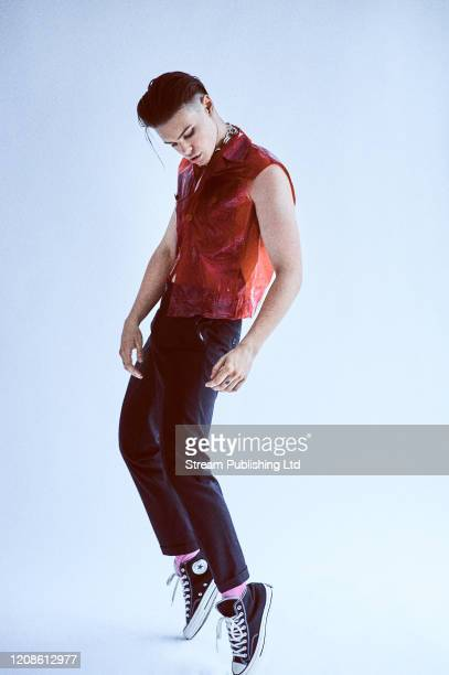 Singer YUNGBLUD is photographed for Attitude magazine on July 28 2019 in London England