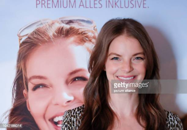 Singer Yvonne Catterfeld poses during the presentation of the new catalogue of the company ARosa in Hamburg Germany 23 June 2015 The company ARosa...