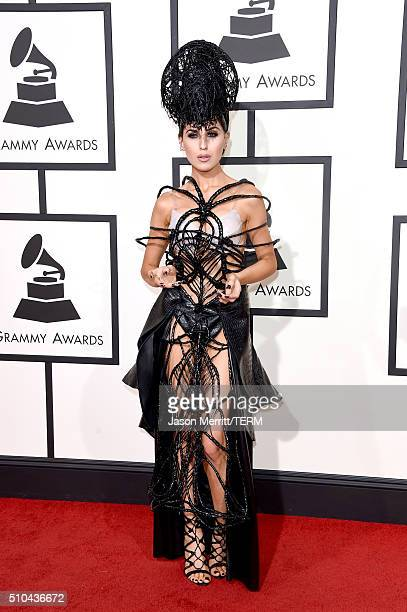 Singer Z LaLa attends The 58th GRAMMY Awards at Staples Center on February 15 2016 in Los Angeles California