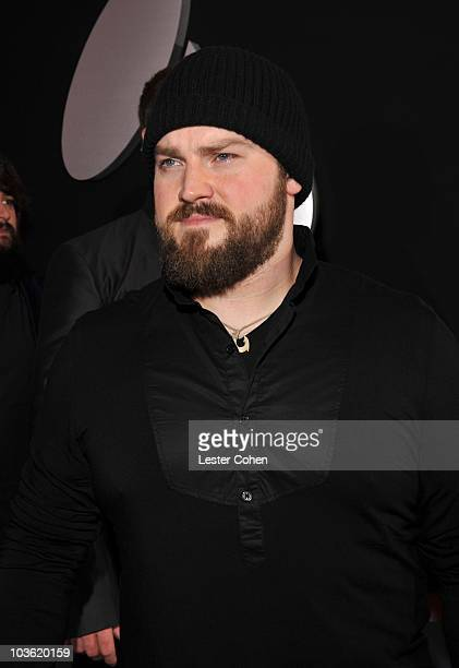 Singer Zac Brown arrives at the 52nd Annual GRAMMY Awards held at Staples Center on January 31 2010 in Los Angeles California