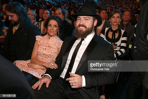 Singer Zac Brown attends the 55th Annual GRAMMY Awards at STAPLES Center on February 10 2013 in Los Angeles California