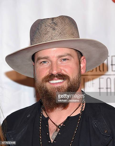 Singer Zac Brown attends the Songwriters Hall Of Fame 46th Annual Induction And Awards at Marriott Marquis Hotel on June 18 2015 in New York City